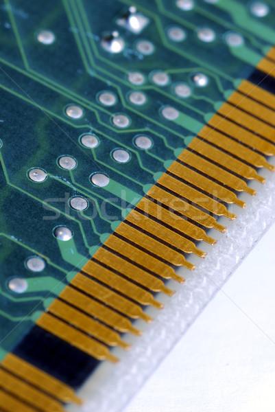 Close-up view of the computer circuit board  Stock photo © johnkwan