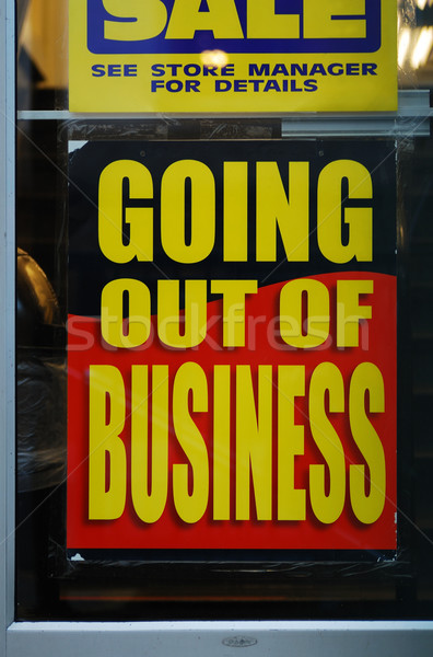 Going out of business Stock photo © johnkwan
