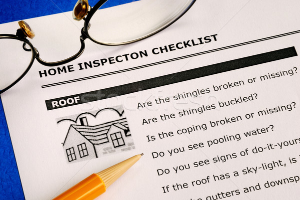 Real estate home inspection checklist and condition report Stock photo © johnkwan