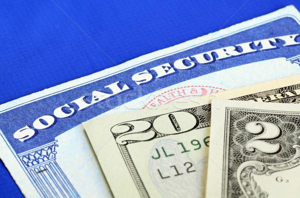 Stock fotó: Társadalombiztosítás · nyugdíj · jövedelem · pénzügyi · tervezés · jövő · pénzügy