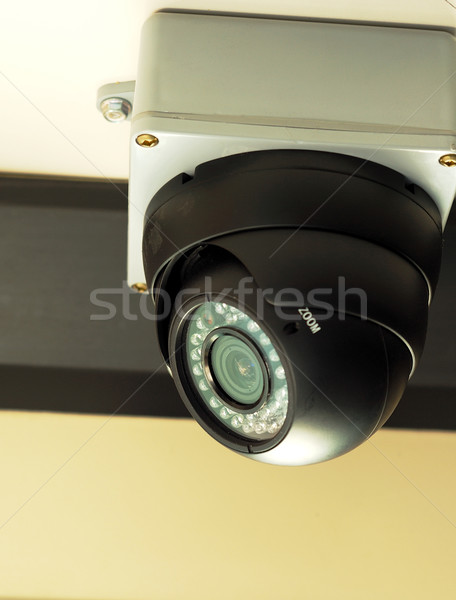 Stock photo: Security / surveillance camera concepts of safety, security and risk