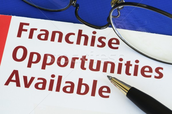 Franchise opportunities concept of new business opportunities Stock photo © johnkwan