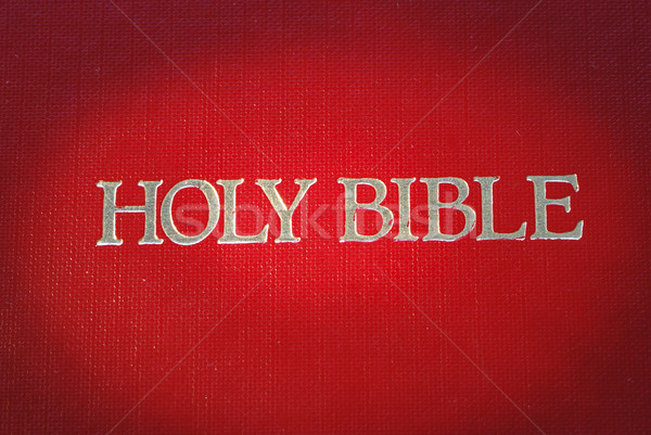 The cover of the Holy Bible is highlight  Stock photo © johnkwan