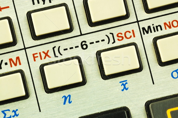Function keys in a scientific calculator concepts of education and science advancement Stock photo © johnkwan