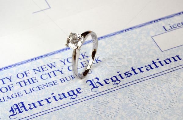 Małżeństwa ceny wysoki ślub kosztować rozwód Zdjęcia stock © johnkwan