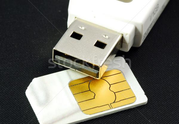 Stok fotoğraf: Kavramlar · kablosuz · Internet · giriş · hareketli · iletişim