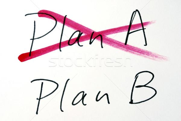 Değiştirmek fikir plan plan b iş ofis Stok fotoğraf © johnkwan