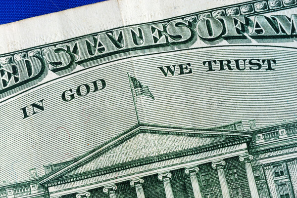 Close up view of the serial number of a dollar bill Stock photo © johnkwan