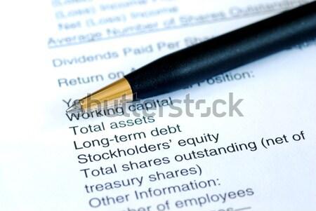 Forma solicitar más información aislado Foto stock © johnkwan