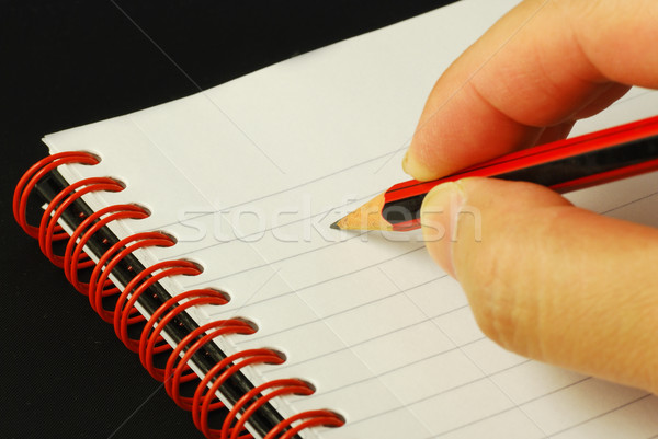 Taking notes concepts of education and knowledge Stock photo © johnkwan