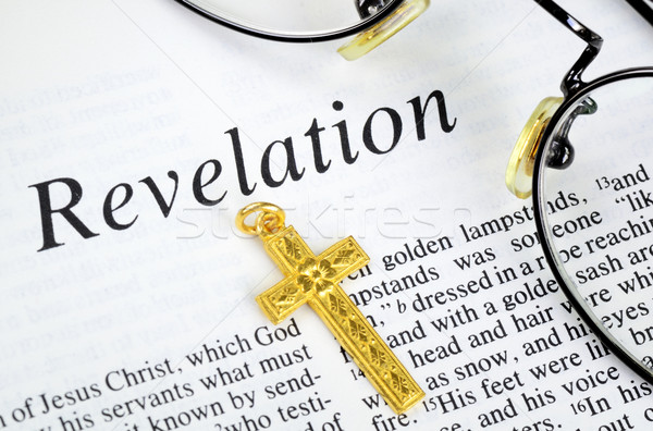 Study the Bible concept of religion and faith Stock photo © johnkwan