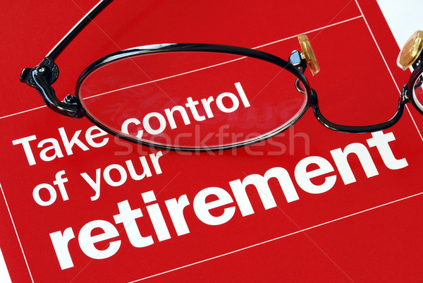Stock photo: Focus on and take control of your retirement