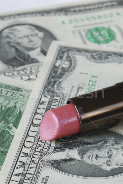 Saving money by cutting the expenses on cosmetics Stock photo © johnkwan