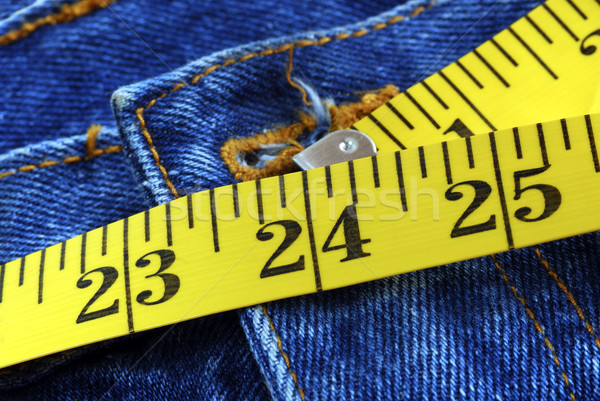 The perfect waist size for a lady is 24 inches Stock photo © johnkwan