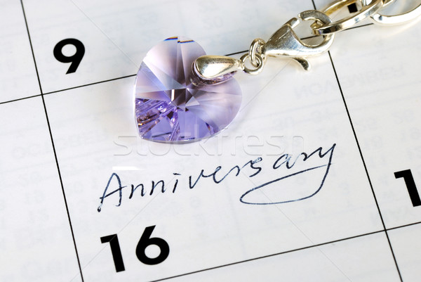 Stock photo: Do you remember today is our anniversary?