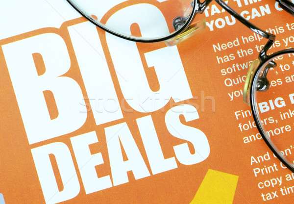 Big deals sign concept of shopping and discounts Stock photo © johnkwan