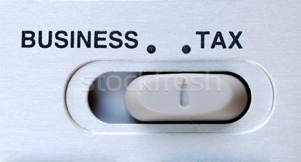 Vergi önemli faktör iş Stok fotoğraf © johnkwan