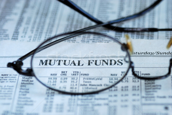 Focus on mutual fund investing Stock photo © johnkwan