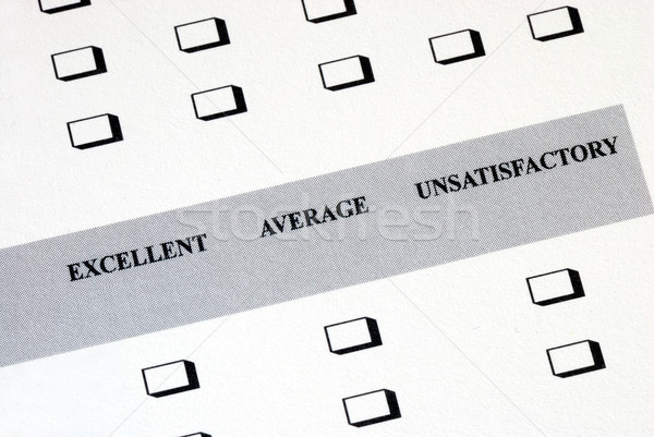 Satisfacción del cliente estudio servicio datos prueba elección Foto stock © johnkwan