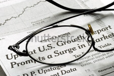 Stock photo: Focus on the United States Income Tax 1040