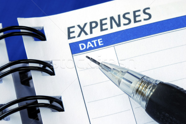 List out the expenses to plan a monthly budget Stock photo © johnkwan