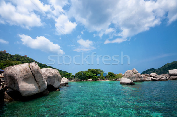 Stock photo: Ko Nangyuan islands in Thailand