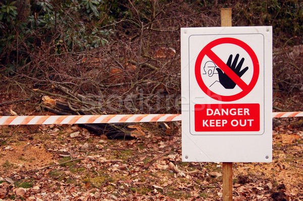 Danger!  Stock photo © johnnychaos