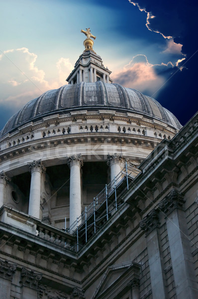 St Paul's Cathedral in London Stock photo © johnnychaos