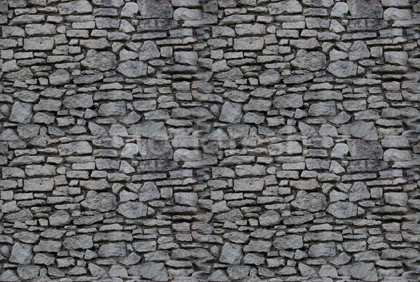 seamless background: stone wall Stock photo © johnnychaos