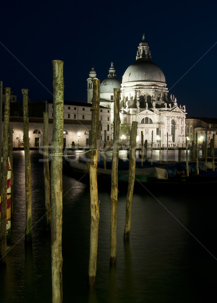 Santa Maria della Salute, Venice, Italy Stock photo © johnnychaos