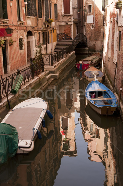 Canal in Venice, Italy Stock photo © johnnychaos