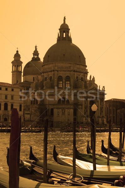 Santa Maria della Salute, Venice, Italy Stock photo © johnnychaos