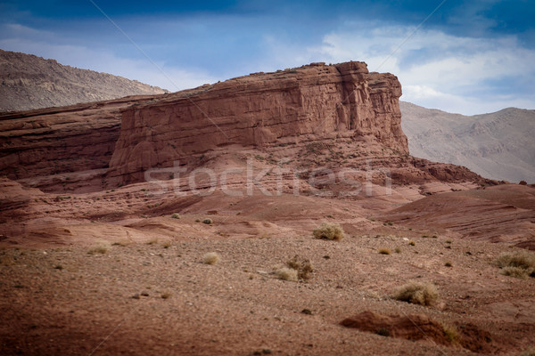 Stock photo: Nomad Valley in Atlas Mountains, Morocco