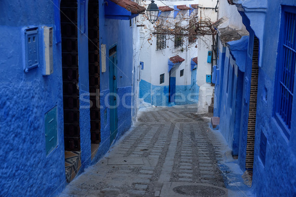 Chefchaouen, the blue city in the Morocco. Stock photo © johnnychaos
