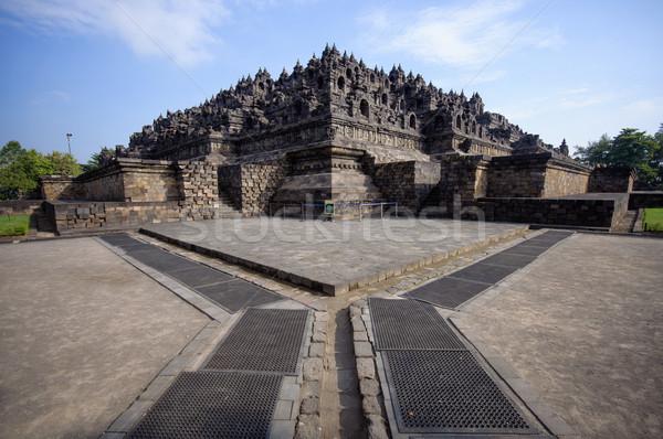 świątyni jawa Indonezja centralny kamień Zdjęcia stock © johnnychaos