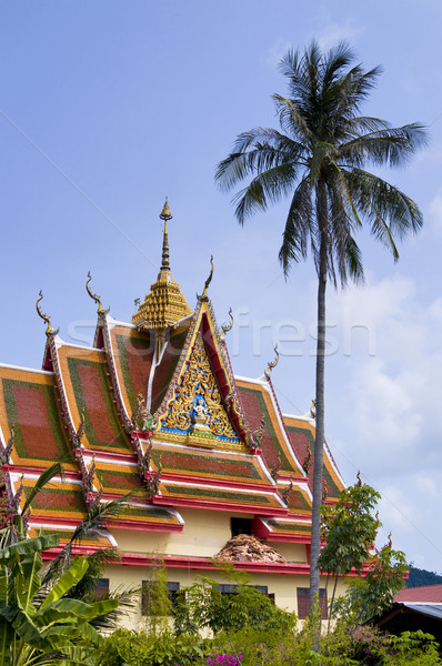 Buddhist temple, Thailand Stock photo © johnnychaos