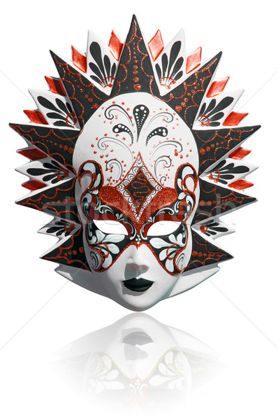 Venetian carnival mask isolated Stock photo © johnnychaos