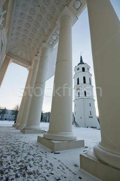 Bell tower in Vilnius, Lithuania Stock photo © johnnychaos