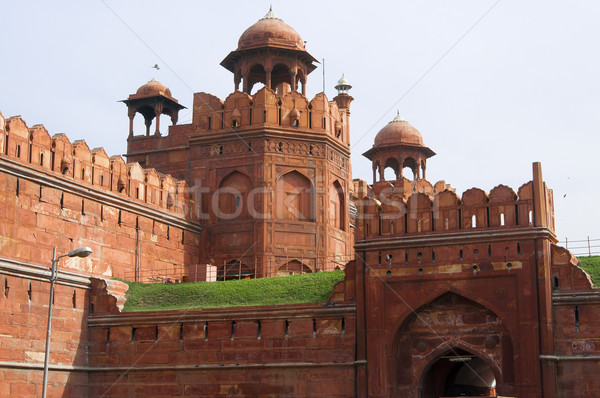 Red Fort in Old Delhi, India Stock photo © johnnychaos