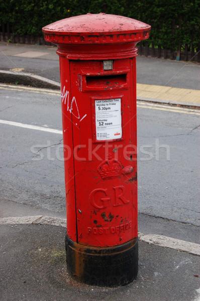 Rouge Londres bureau de poste célèbre classique rue Photo stock © johnnychaos