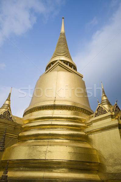 Palais Bangkok Thaïlande célèbre repère bâtiment Photo stock © johnnychaos