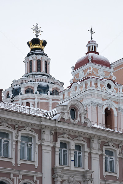 Jesuit Church of St. Casimir in Vilnius  Stock photo © johnnychaos