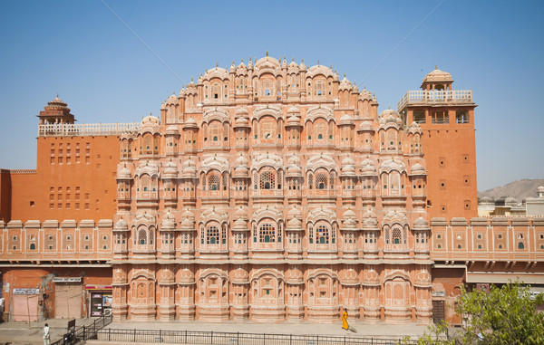 Hawa Mahal, the Palace of Winds, Jaipur, Rajasthan, India.  Stock photo © johnnychaos