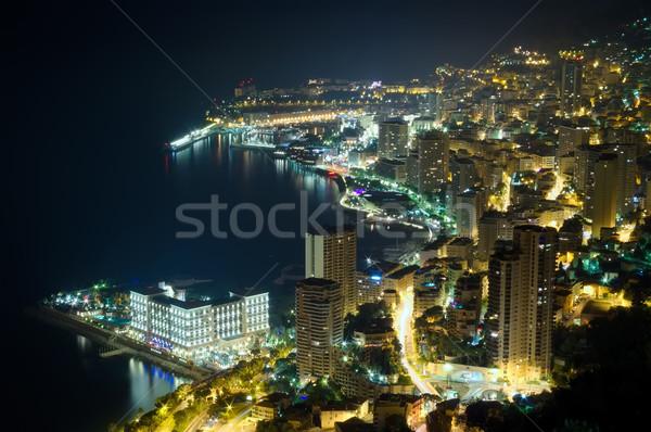 Monaco, Monte Carlo by night  Stock photo © johny007pan