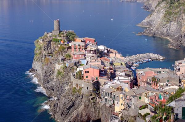 Village une Italie scénique vue italien Photo stock © johny007pan