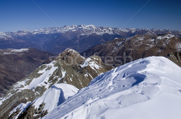 Alpes montagnes vue italien printemps pic Photo stock © johny007pan