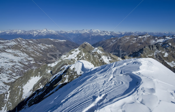 summit of Italy Alps Stock photo © johny007pan