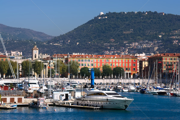 Marseille kikötő Franciaország kilátás mediterrán tenger Stock fotó © johny007pan