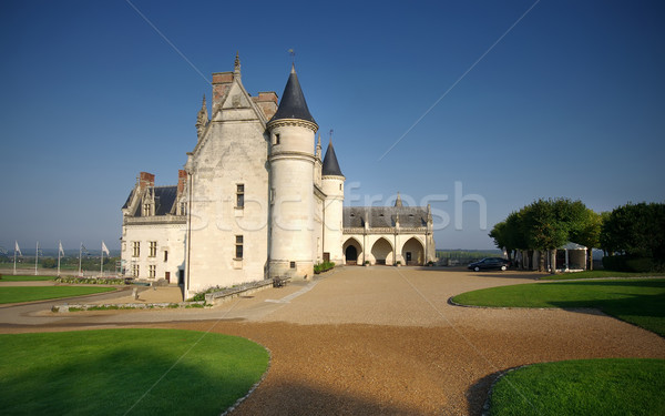 Amboise castle, France Stock photo © johny007pan