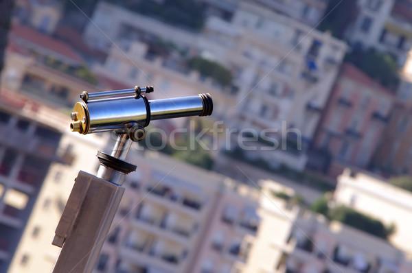 Jumelles vue ville Monaco plage Photo stock © johny007pan